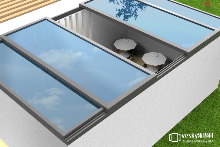 大型平移天窗2